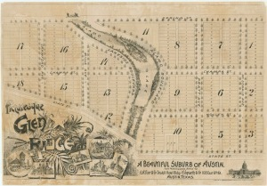 Original Glrn Ridge plat map (Shoal Creek between 34th & 38th streets)