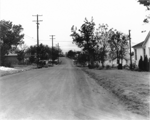 Jefferson Avenue looking north at 29th Street in the 1930's